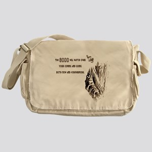 The LORD wil Watch Messenger Bag