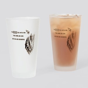 The LORD wil Watch Drinking Glass