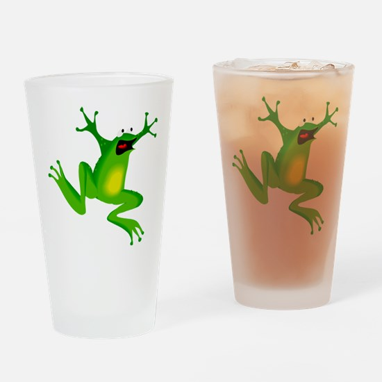 Feeling Froggy Drinking Glass