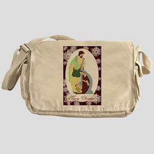 The Nativity Messenger Bag