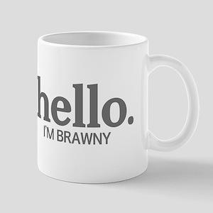 Hello I'm brawny Mug