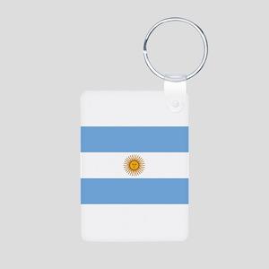 Argentina Aluminum Photo Keychain