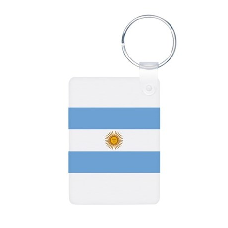 Argentina Aluminum Photo Keychain