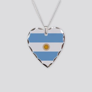 Argentina Necklace Heart Charm