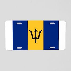 Barbados Aluminum License Plate