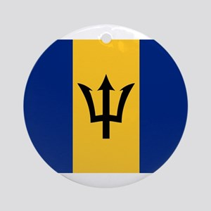 Barbados Ornament (Round)