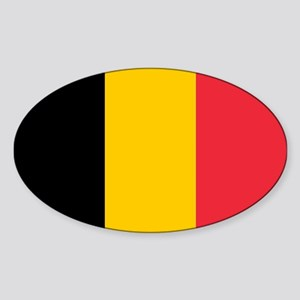 Belgium Sticker (Oval)