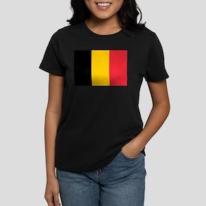 Belgium Women's Dark T-Shirt