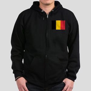 Belgium Zip Hoodie (dark)
