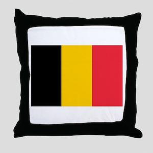Belgium Throw Pillow