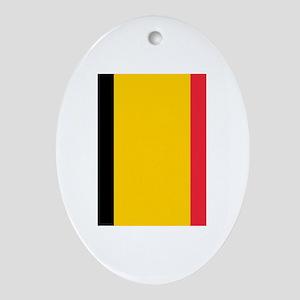Belgium Ornament (Oval)