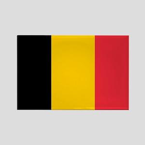 Belgium Rectangle Magnet