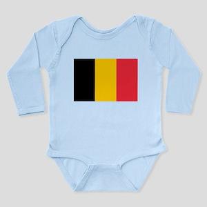 Belgium Long Sleeve Infant Bodysuit