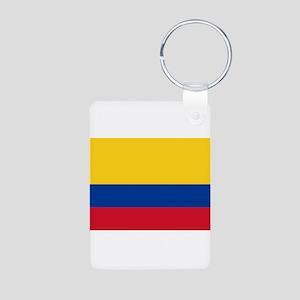 Colombia Aluminum Photo Keychain