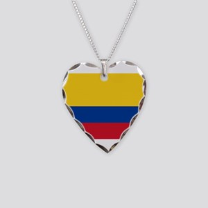 Colombia Necklace Heart Charm