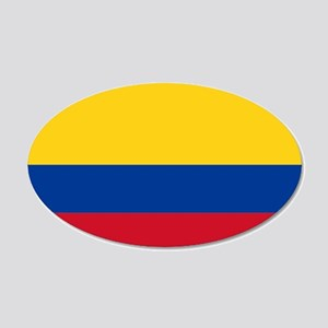 Colombia 22x14 Oval Wall Peel