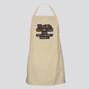Worlds Greatest ZOO COMMISSARY KEEPER Light Apron