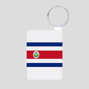 Costa Rica Aluminum Photo Keychain
