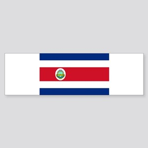 Costa Rica Sticker (Bumper)