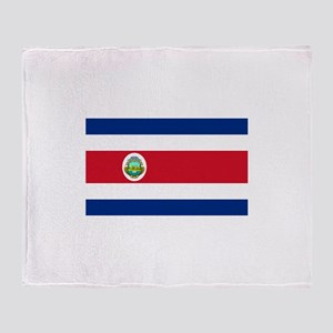 Costa Rica Throw Blanket
