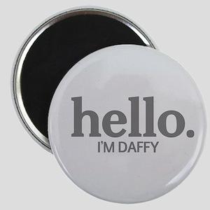 Hello I'm daffy Magnet