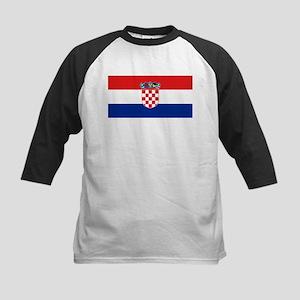 Croatia Kids Baseball Jersey