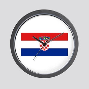 Croatia Wall Clock