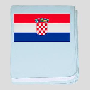 Croatia baby blanket