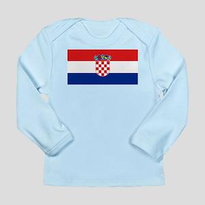 Croatia Long Sleeve Infant T-Shirt