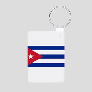 Cuba Aluminum Photo Keychain