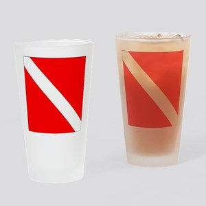 Diver Down Drinking Glass