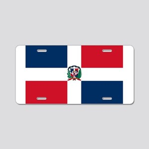 Dominican Republic Aluminum License Plate