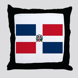 Dominican Republic Throw Pillow