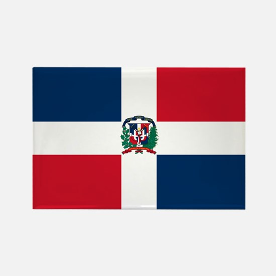 Dominican Republic Rectangle Magnet