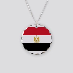 Egypt Necklace Circle Charm