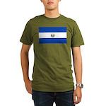 El Salvador Organic Men's T-Shirt (dark)