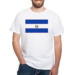 El Salvador White T-Shirt