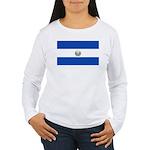El Salvador Women's Long Sleeve T-Shirt