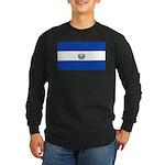 El Salvador Long Sleeve Dark T-Shirt
