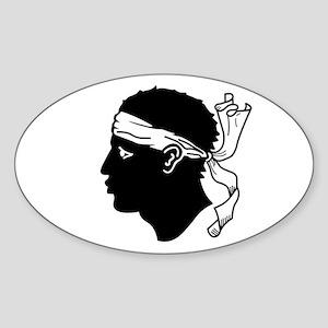 Corsica Sticker (Oval)