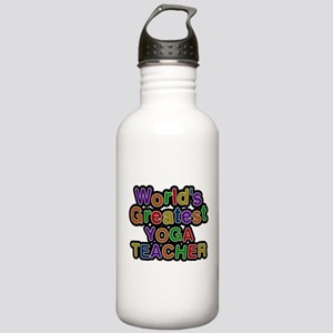Worlds Greatest YOGA TEACHER Water Bottle