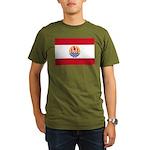 French Polynesia Organic Men's T-Shirt (dark)