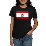 French Polynesia Women's Dark T-Shirt