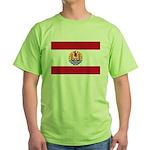 French Polynesia Green T-Shirt