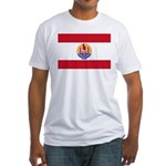French Polynesia Fitted T-Shirt