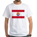French Polynesia White T-Shirt