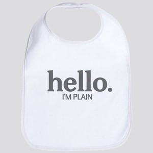 Hello I'm plain Bib