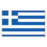 Greece Sticker (Rectangle 10 pk)