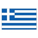Greece Sticker (Rectangle)