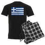 Greece Men's Dark Pajamas